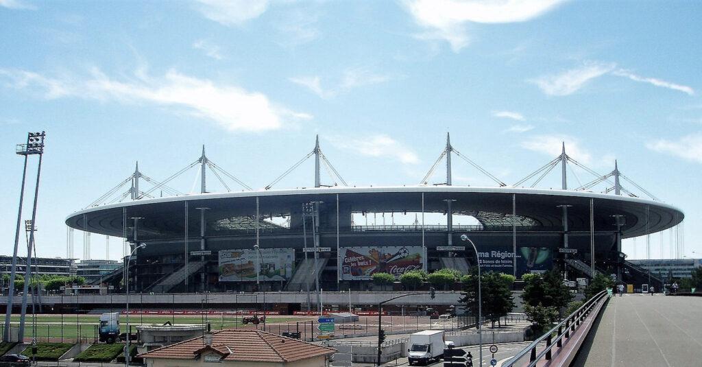 Stade de France vu d'extérieur