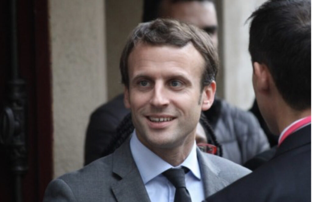 Photo d'Emmanuel Macron le président français pour illustrer sa venue a Lyon ainsi que sa décision attendue