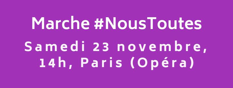 Banderole #NousToutes Facebook