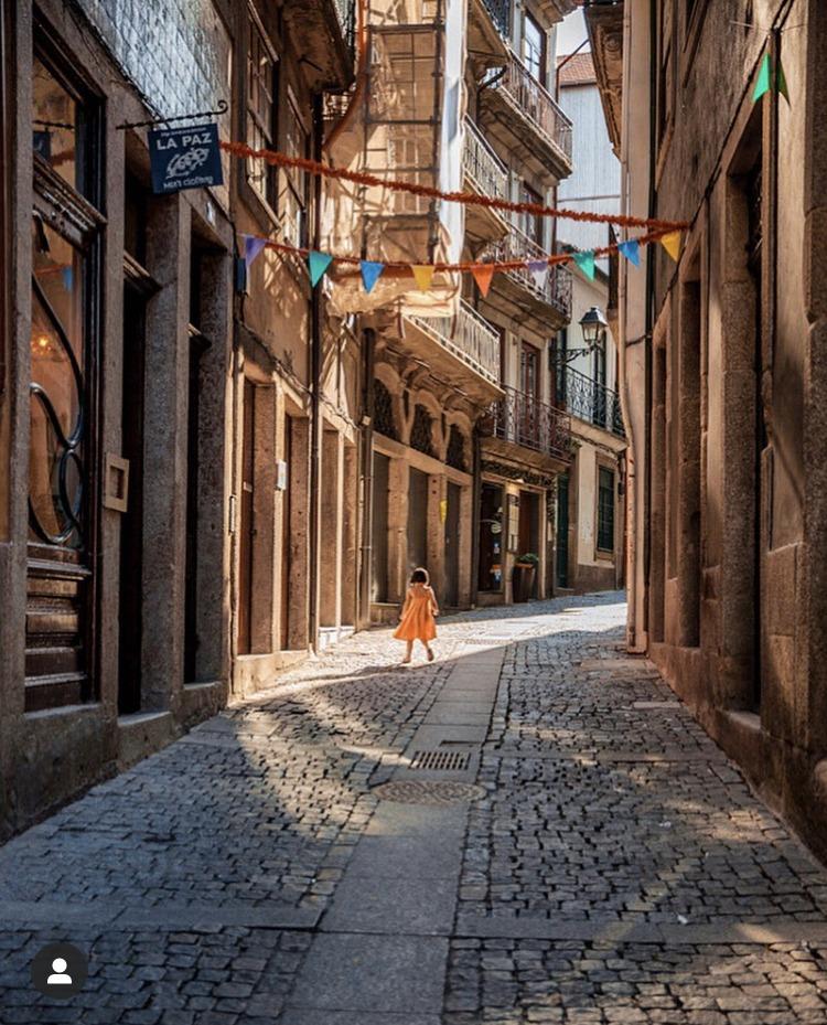 Rue pavées de Porto