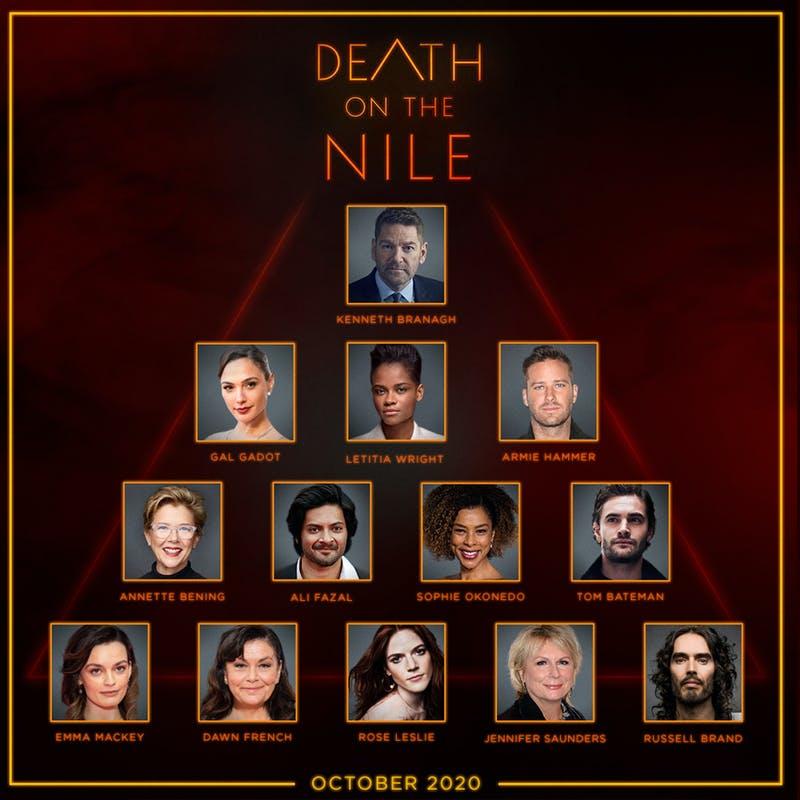 Mort sur le Nil : la première bande-annonce
