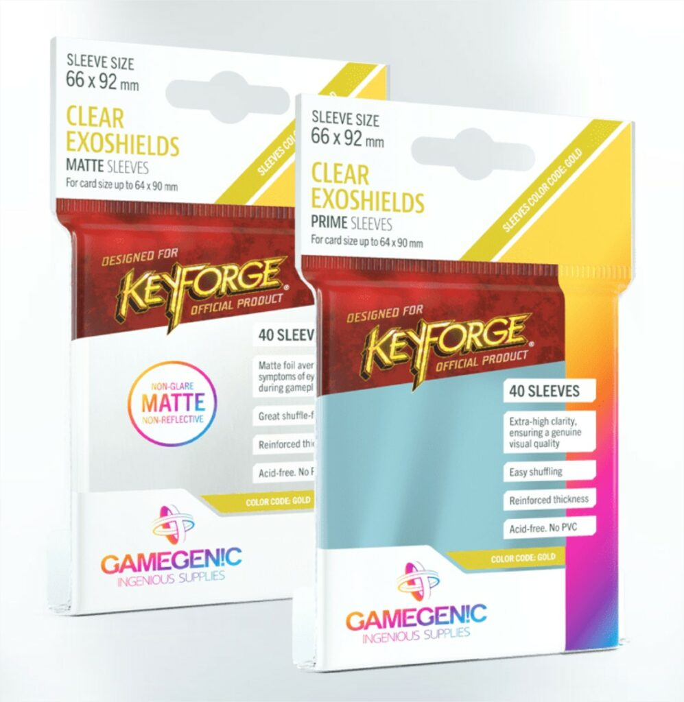 KeyForge Gamegenic Sleeves