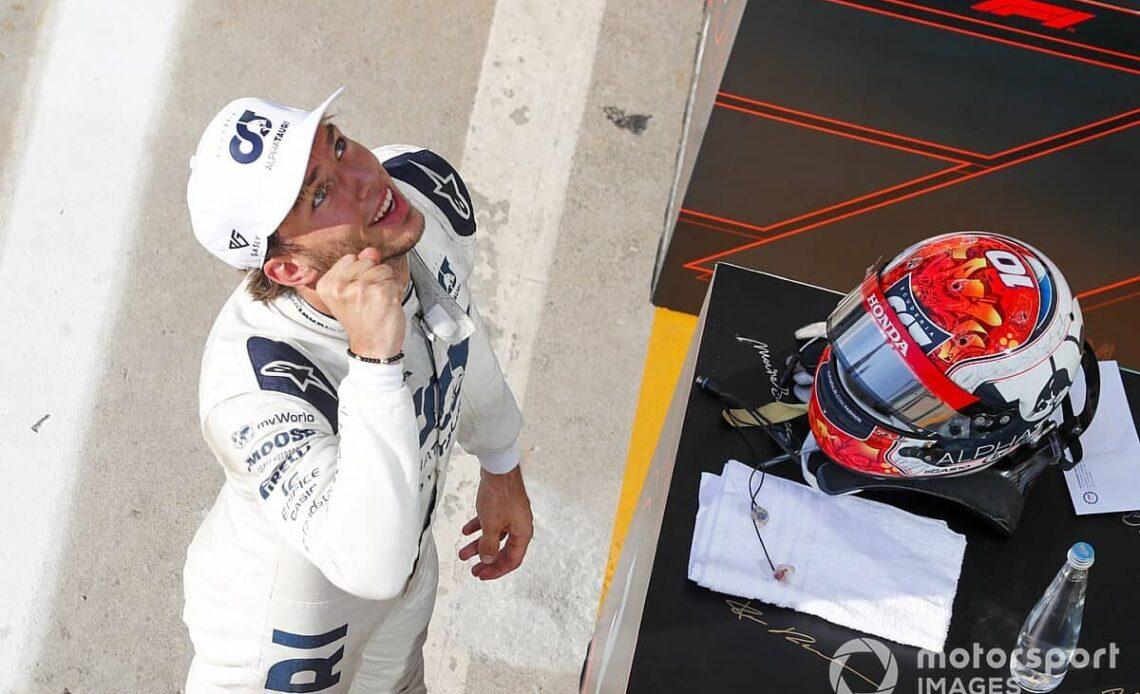 Lance Stroll monte sur le podium au Grand Prix d'Italie