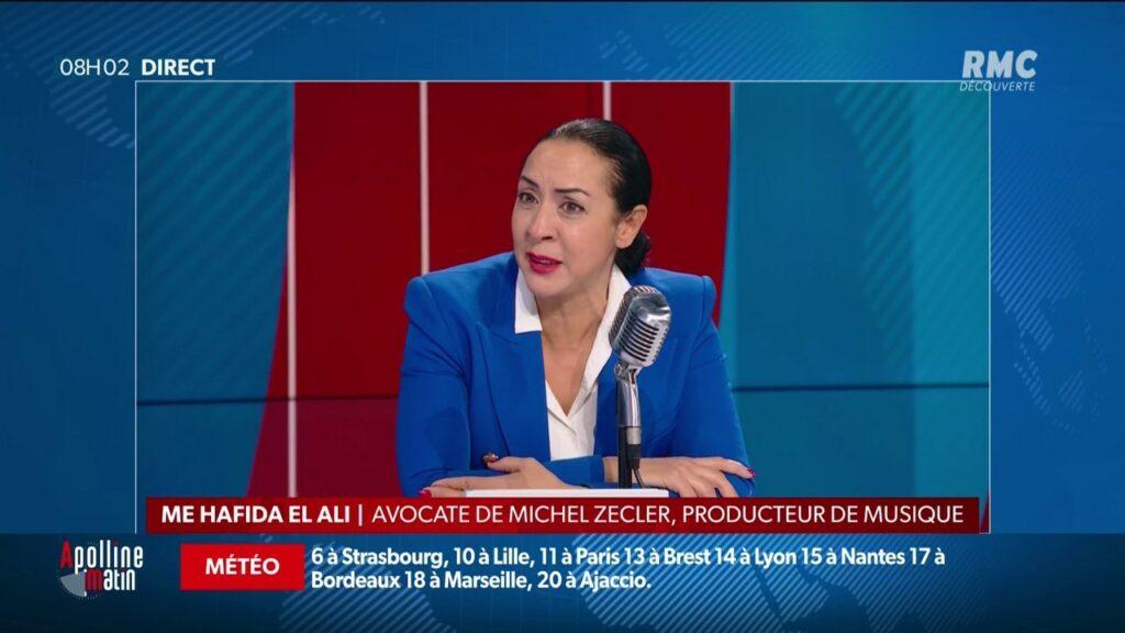L'avocate, Me Hafida El Ali mardi 27 novembre sur RMC