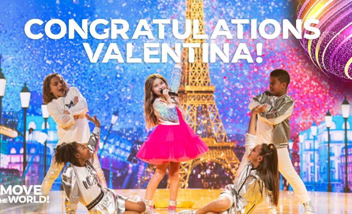 L'Eurovision Junior est remporté Valentina