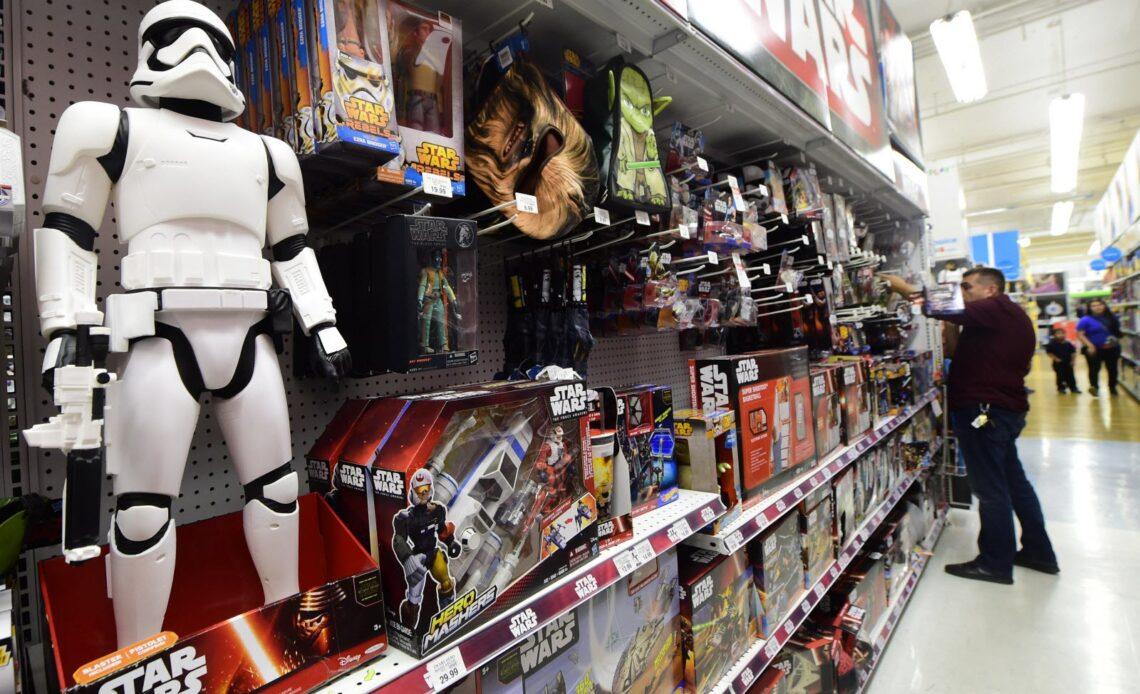 Magasin de jouets Star Wars