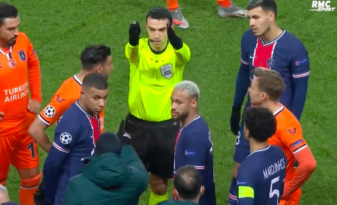 Ligue des Champions: Lors de la rencontre PSG-BASAKSEHIR, les joueurs quittent le terrain après des propos racistes