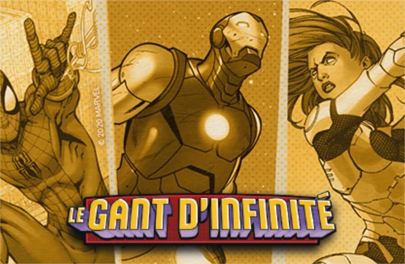 Le Gant d'Infinité Un jeu Love Letter™ - Edgeent.fr