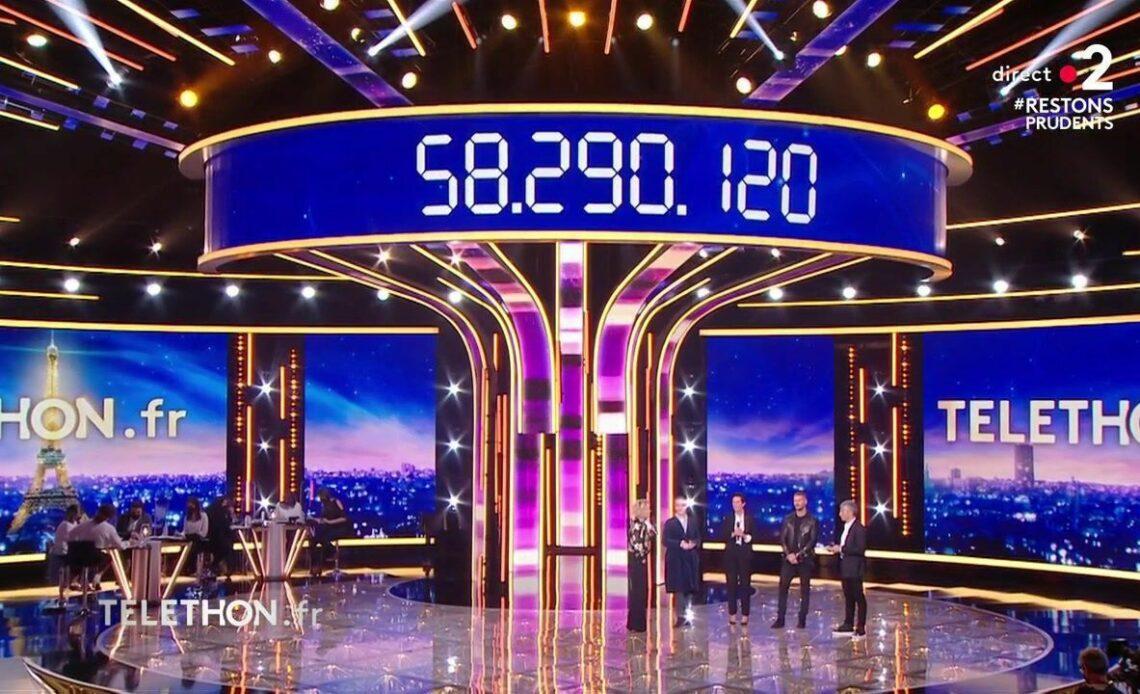 Le Téléthon récolte 58,29 millions d'euros