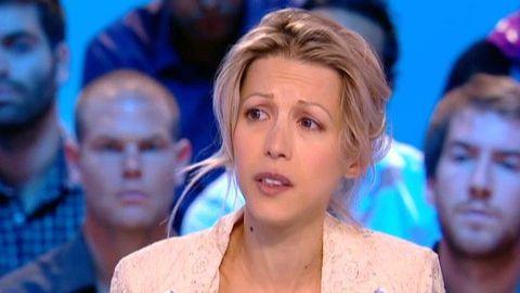 Tristane Banon lors de son passage au Grand Journal sur la chaîne Canal+. Tristane Banon accuse Dominique Strauss-Khan de tentative de viol.