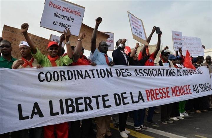 journalistes sénégalais