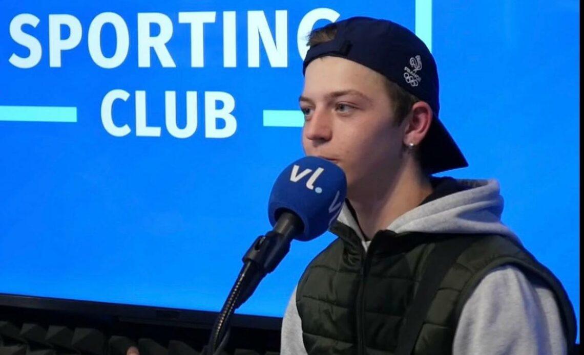 Martin Lejeune, invité du Sporting Club sur VL présenté par Dimitri Blanleuil