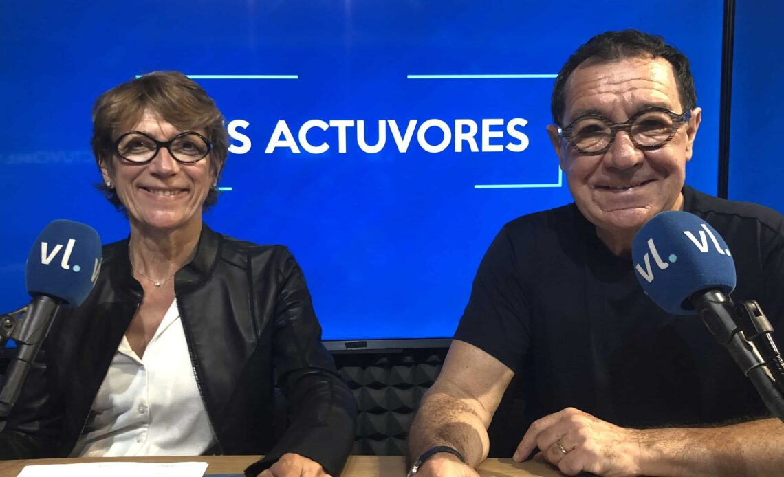 Philippe Peythieu et Véronique Augereau