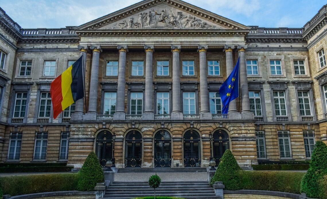 Photographie du Parlement belge