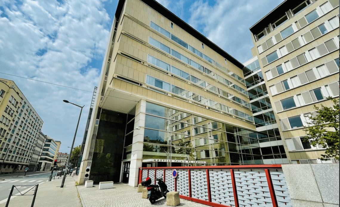 © Louis Pasquier-Avis / Nouveau Palais de Justice de Lyon 2021