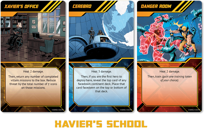 X-Men Ecole