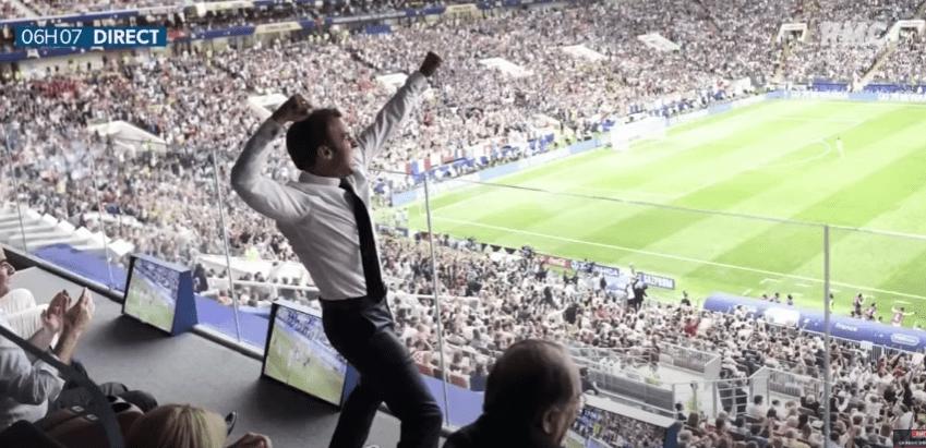 Emmanuel Macron Variétés Club de France
