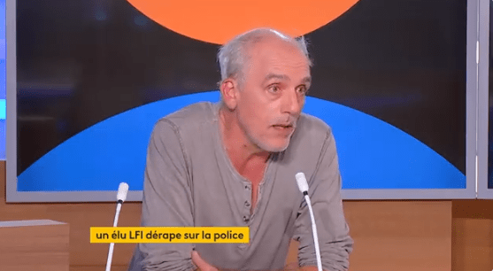 Philippe Poutou police France Info
